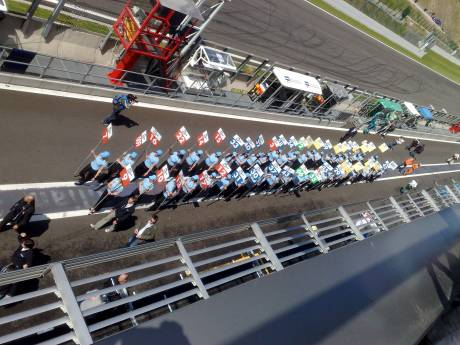 Grid Girls voor de Le Mans Series