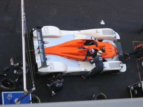 Pitstopoefening voor de Le Mans Series