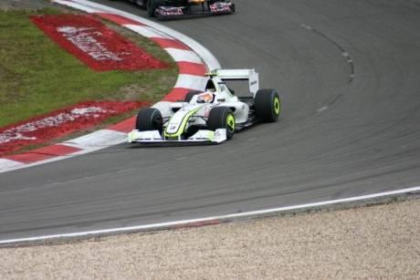 Een mooie foto van de Formule 1