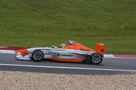 Een mooie foto van de Formula BMW Europe