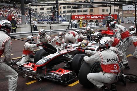 Statistieken F1 Monaco 2010