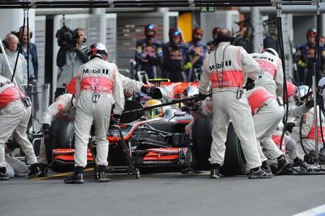 Statistieken F1 België 2010