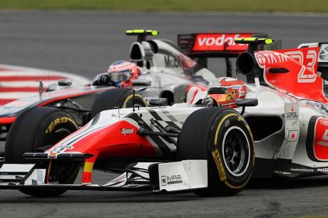 Statistieken F1 Engeland 2011