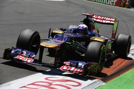 Statistieken F1 Europa 2012