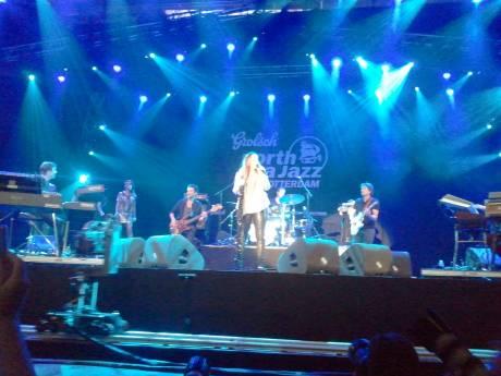 Trijntje Oosterhuis op North Sea Jazz 2012