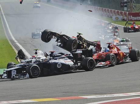 Statistieken F1 België 2012