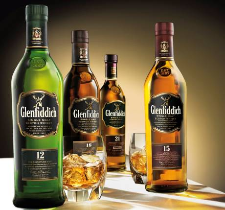 Glenfiddich Whiskys