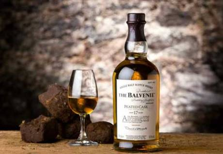 The Balvenie Peated Cask Aged 17 Years