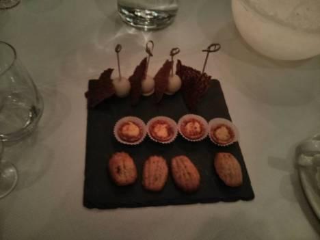Whisky Dinner; Huisgemaakte Friandises