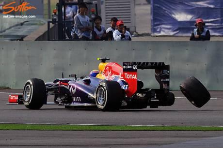 Statistieken F1 China 2013