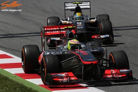 Statistieken F1 Spanje 2013