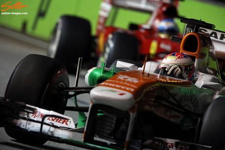 Statistieken F1 Singapore 2013