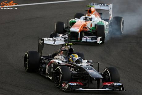 Statistieken F1 Abu Dhabi 2013