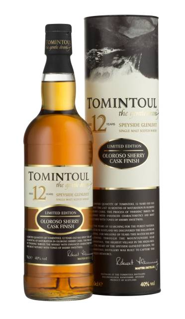 Tomintoul 12 Year Old Oloroso Sherry Cask Finish