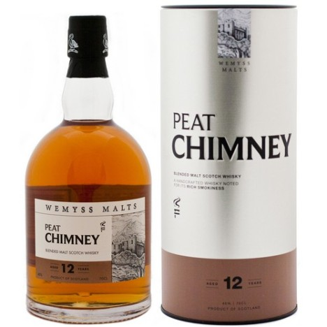 Wemyss Malts 12 Year Old Peat Chimney