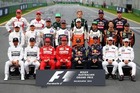 Statistieken F1 Australië 2014