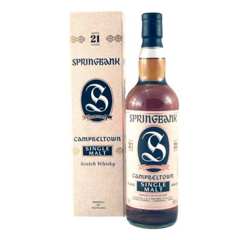 Springbank 21 Years Old Single Campbeltown Malt