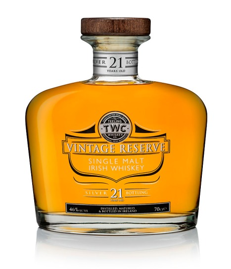 Teeling Single Malt Irish Whiskey Vintage Reserve 21yo