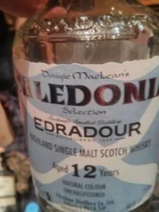 Edradour Caledonia 12yo