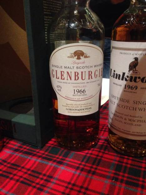 Glen Burgie Single Malt Scotch Whisky Distilled 1966 Bottled 2012