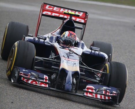 Statistieken F1 China 2014