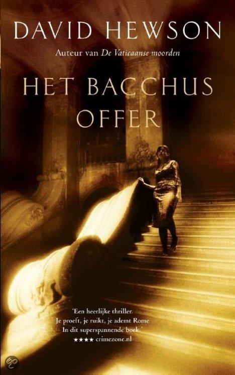 David Hewson - Het Bacchus Offer